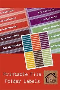printable file folder labels file folder labels folder With free printable file folder labels