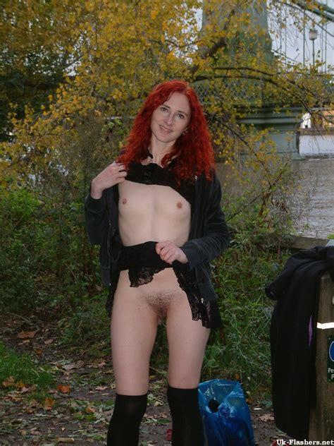 Redhead Amateur Exhibitionist