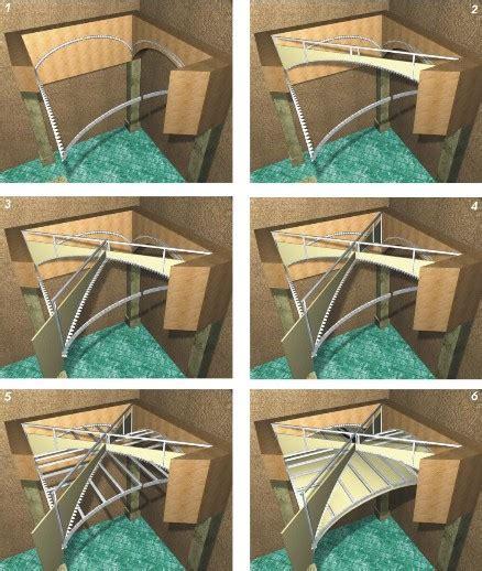 soffitti a botte soffitti curvi volta a crociera vertebra controsoffitti
