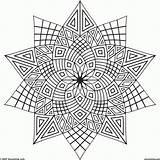 Coloring Pages Adult Cool Designs Colour Printable Colouring Pattern Sheets Geometric Adults Things Mandala Patterns Easy Teens Teenagers Teenager Awesome sketch template