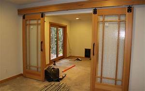 craftsman style barn doors for the home pinterest With barn doors for homes interior