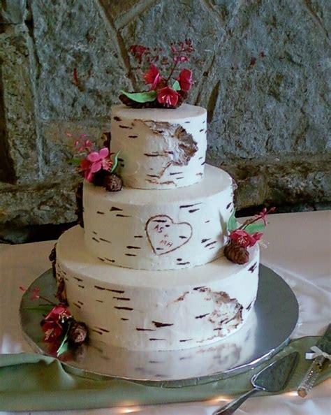 Top Birch Bark Cakes