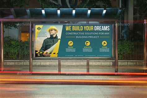 construction business billboard template vol