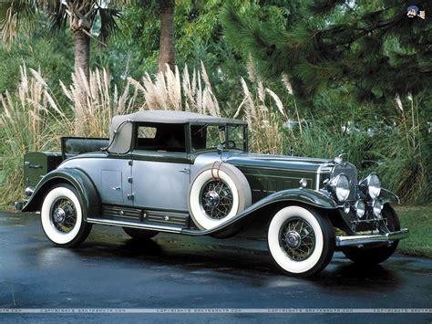 1930 Cadillac Classic Cars, vintage cadillac wallpaper