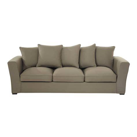 teindre un canapé en tissu non déhoussable canapé 4 places en tissu taupe balthazar maisons du monde