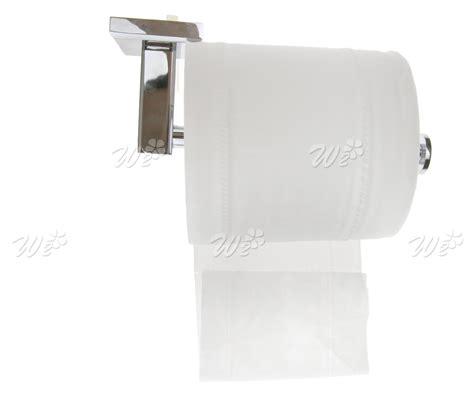 toilet roll holder square design modern deluxe bathroom toilet roll holder in chrome wall