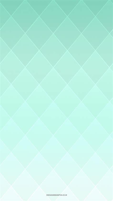 Diamond Gradient Mint Tjn  Iphone Walls 2 Pinterest