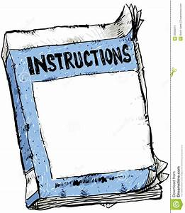 Worn Instruction Booklet Stock Image