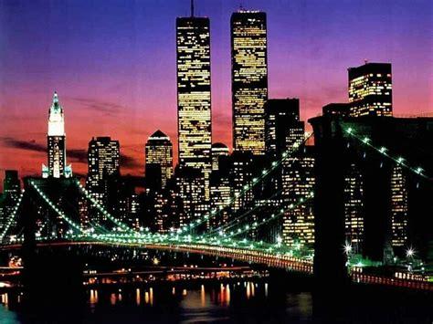 le tactile new york ecran plus new york le pont de et le world trade center