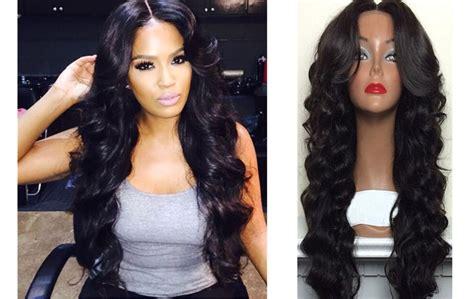Brazilian Virgin Human Hair Full Lace Wig Loose Wave Lace