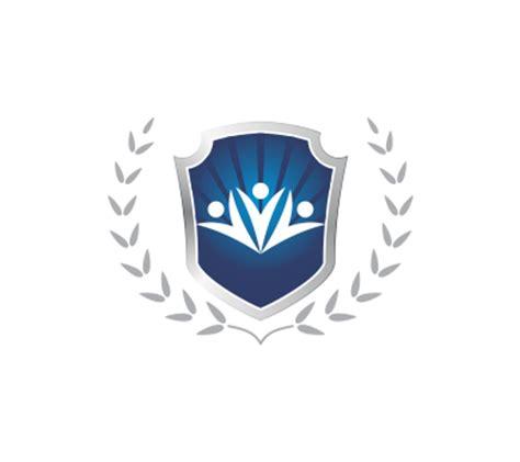 vector education shield  vector logos