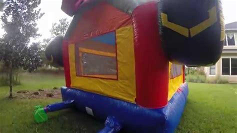 monster truck show jacksonville monster truck bounce house jacksonville youtube