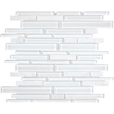 lowes canada white subway tile 12 in x 14 in alaskan white mixed material wall tile