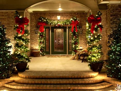 simple elegant christmas lights outside use of lighting and decorative plants to the outdoor for