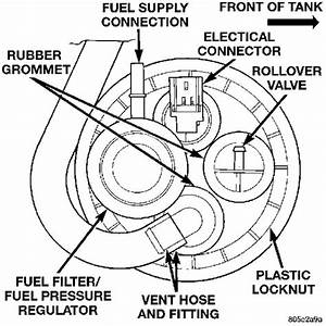 Where Is My 94 Dodge Dakota V8 Magnum Fuel Filter Located At