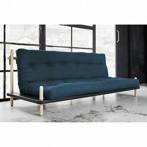 canape banquette futon convertible au meilleur prix With tapis rouge avec canape convertible style scandinave
