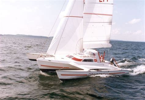 Trimaran Trailer Sailer For Sale by Dragonfly 25 Folding Trimaran A Fast Multihull Trailer