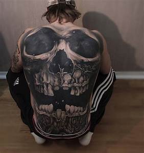 Skull Back Tattoo | Best tattoo design ideas