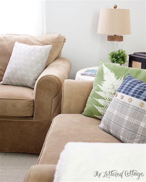 tj maxx decorative pillows keith the fireman s living room reveal the lettered cottage