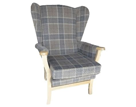 high seat fireside chair for hire or sale