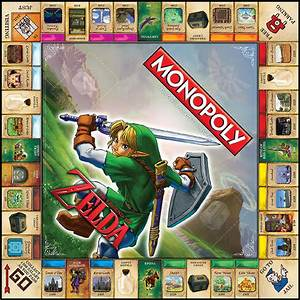 Eb Games Exclusively Selling The Zelda Monopoly Board In