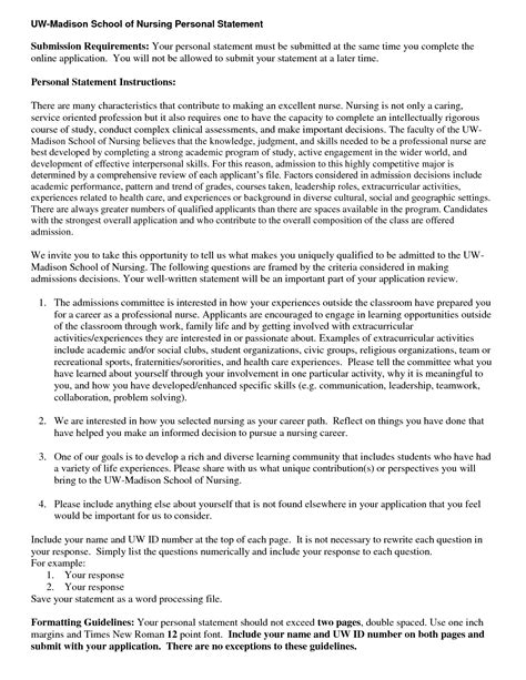 Personal Statement For Nursing Exles by Help With Writing A Personal Statement For Nursing Nozna Net