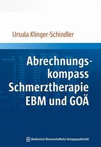 Abrechnung Ebm : kommentare und abrechnungstipps zur schmerztherapie ebm ~ Themetempest.com Abrechnung