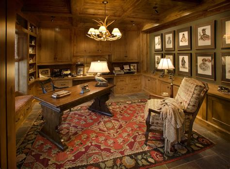 Ferndale Residence  Traditional  Home Office