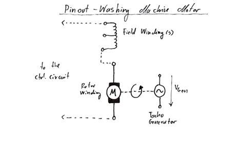 wiring diagram for ac motor washing machine motor motor washing machine motor