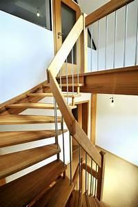 Treppe Handlauf Holz : handlauf holz treppe pinterest treppe freitragende treppe und treppengel nder ~ Watch28wear.com Haus und Dekorationen