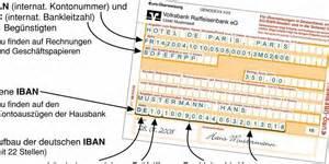 Iban Berechnen Formel : iban nummer ist bei berweisungen ab februar pflicht der ~ Themetempest.com Abrechnung