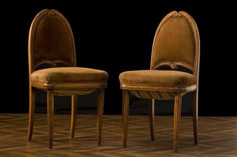 chaises art deco vintage chaises anciennes annees