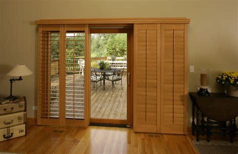 sliding glass door shutters in sunburst shutters