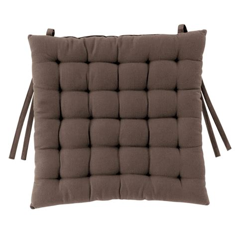 galette de chaise exemple galette de chaise taupe