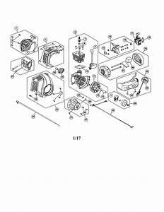 Craftsman 316740800 Gas Line Trimmer Parts