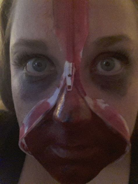 halloween  zipped face     create  face