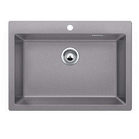 blanco kitchen sinks stainless steel blanco pleon 8 alumetallic silgranit sink kitchen sinks 7919