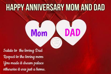 happy anniversary wishes  parents mom  dad happy wishes