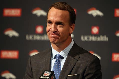Peyton Manning Images Peyton Manning Gets Emotional While Officially Saying
