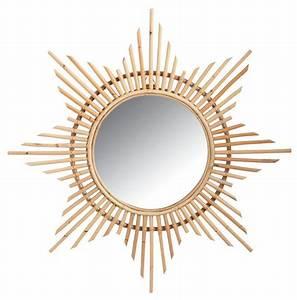 Miroir En Rotin : miroir en rotin etoile ~ Nature-et-papiers.com Idées de Décoration