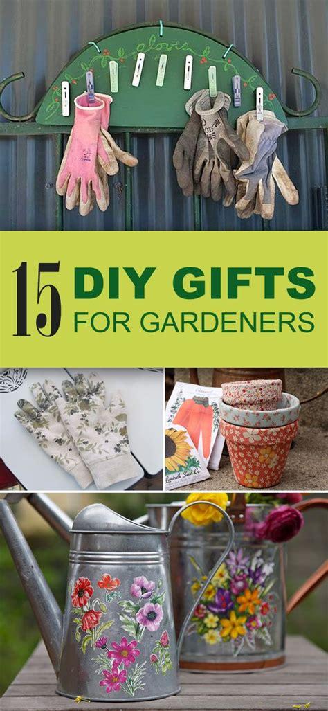 Unique Garden Gifts - 15 easy unique diy gifts for gardeners appreciation