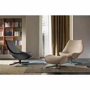 Fauteuil Design Pivotant Coque IDKREA Collection D39exception