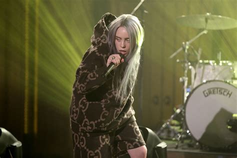 """Billie Eilish Performs On """"the Tonight Show Starring Jimmy"""