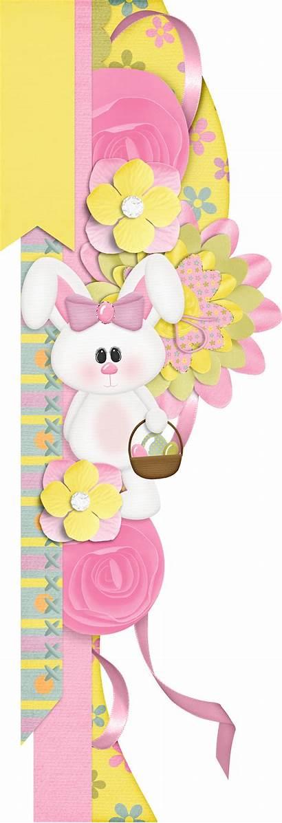 Scrapbook Easter Borders Sweet Pea Paper Embellishments