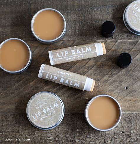 lip balm label handmade organic lip balm