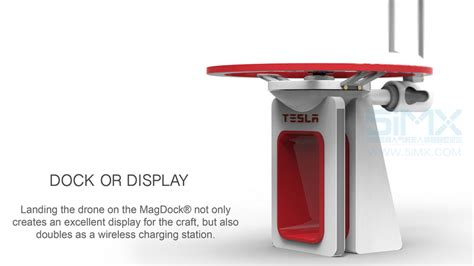 tesla drone double helix design  shooting  hour flight time top toy space