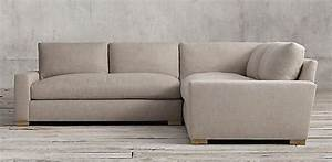 restoration hardware sectional sofas sectional collections With small sectional sofa restoration hardware