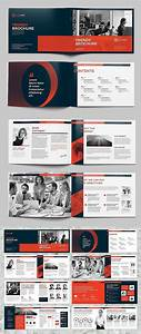 Indesign Brochure Trendy A5 Landscape Brochure Booklet Layout Corporate