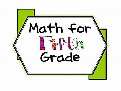 Grade Primary Clipart 5th Math Fifth Clip