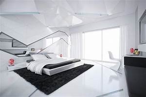 The images of black and white bedroom for wallpaper
